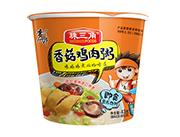 珠三角香菇鸡肉粥桶装