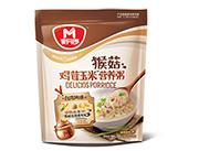 麦丹郎猴菇鸡茸玉米营养粥