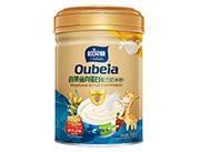 508克欧贝雅蔬果鱼肉蛋白配方奶米粉