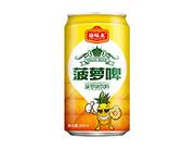 康味来菠萝啤菠萝味饮料330ml