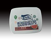 益佳益口小铁盒西瓜味清爽含片润喉糖38g