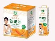 农树果园芒果汁1L×6瓶
