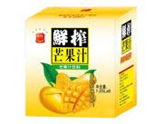 悦汁恋鲜榨芒果汁饮料1.25Lx6