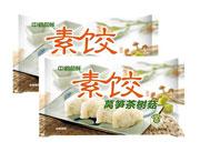 中鹤品鲜莴笋茶树菇素饺