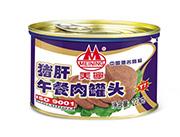 美宁猪肝午餐肉罐头227g