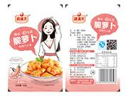 湘满天-脆萝卜一元装香辣味36克