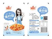 湘满天-脆金针菇一元装香辣味20克