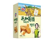 盖能无蔗糖猴菇饼干1.08kg(方盒)