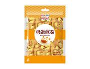 万蓉鸡蛋煎卷蛋圆饼干158g橙色装