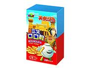 乐比卡通美食大冒险三文口口脆膨化食品20克