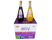 椰好佳蓝莓汁芒果汁1.5l箱装