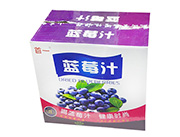 首一蓝莓汁箱装