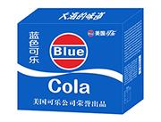 美国蓝色可乐箱装