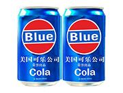 美国蓝色可乐易拉罐