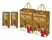 鹤园野生松仁牛奶250ml礼盒