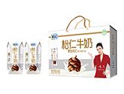 鹤园野生松仁牛奶钻石包200ml×12盒