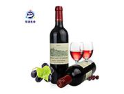 华源生命法国原装进口混合干红葡萄酒750ml