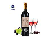 华源生命法国原装进口AOC干红葡萄酒750ml