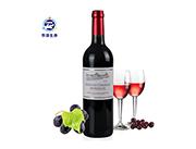 华源生命法国波尔多原装进口干红葡萄酒750ml