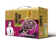 欣客紫薯黑米营养粥
