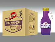 好友趣蓝莓汁1.5lx6瓶箱装饮料