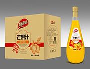 好友趣芒果汁箱装1.5lx6瓶