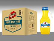 好友趣芒果汁1.5lx6瓶箱装饮料