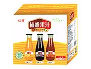 植雅果汁大口瓶箱1.5L×6瓶