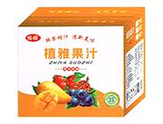 植雅果汁饮料口杯箱1L×6瓶