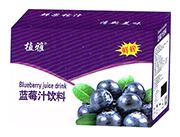 植雅鲜榨蓝莓汁饮料420ml礼盒