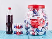 百家赞各种口味可乐含片大瓶装