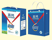 竖提丝带高钙奶250mlx12盒