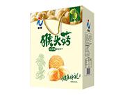 万蓉猴头菇无蔗糖酥性饼干礼盒