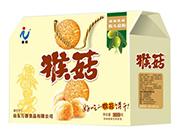 万蓉猴头菇酥性饼干1000g