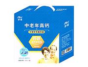 妙缘骨骼高钙加强型中老年高钙乳味饮品250ml×12盒