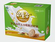 银杏高纤五谷粗粮消化饼