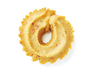 花昔玫瑰味扭花曲奇饼干91克