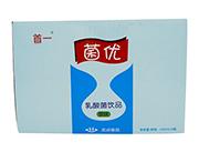 首一菌优原味乳酸菌330mlx12瓶