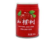 首一山楂树原味山楂汁饮料240ml