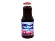 首一蓝莓汁瓶装