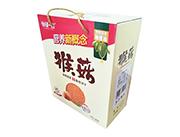 谷部一族营养新概念猴菇酥性饼干立式礼盒