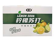 点趣柠檬苏打饮料箱装