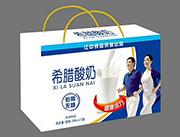 江中食品希腊酸奶250mlx12盒
