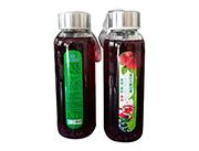 蓝莓+草莓+石榴复合果汁饮料318ml