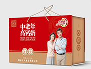 烟台三九无蔗糖中老年高钙奶250mlx12盒