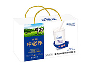 福州达利园高钙中老年舒适养生奶