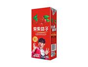 果果益子山楂果肉饮料250ml