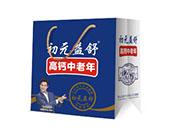 初元益舒高钙中老年奶250mlx12盒礼盒装
