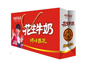 安佳果益子花生牛奶250mlx12盒礼盒装