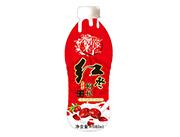 偶像来了红枣枸杞老酸奶风味饮料1080ml